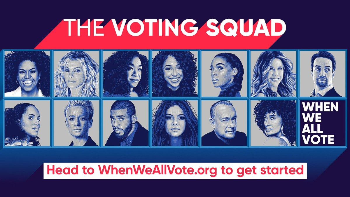 @WhenWeAllVote's photo on #VotingSquad