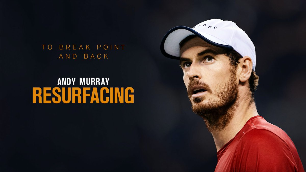 Excited and proud to announce that for last two years I've been filming my (long) journey back from injury. Andy Murray: Resurfacing hits @primevideouk  on Friday the 29th of November and I look forward to hearing what you all think about the film.  😄🎾🎥  @primevideosport https://t.co/IJe8QZ9YAy