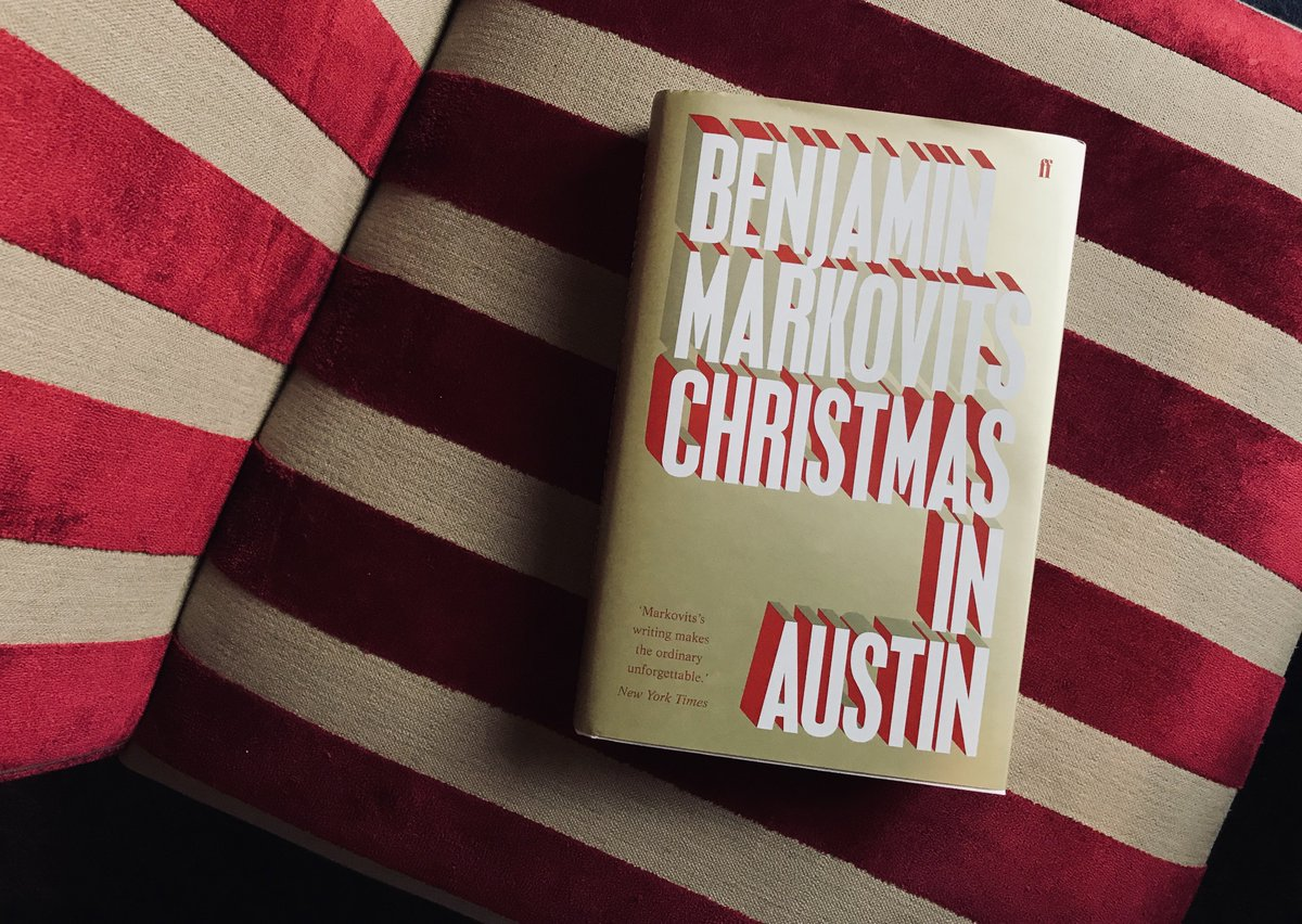 Happy publication day to Christmas in Austin! Benjamin Markovits new novel brings us right into the heart of family life to explore the deep-rooted division between the world we grow up in, and the life we make for ourselves ✨