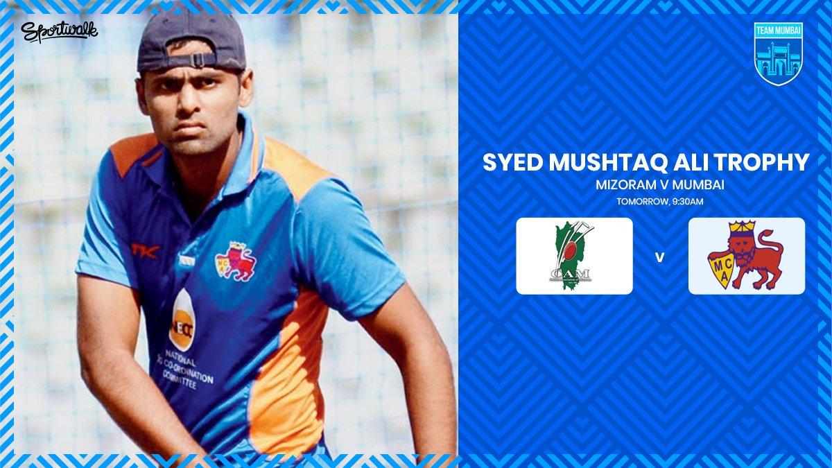 🔥🏏 SYED MUSHTAQ ALI 2019 | Mumbai will take on Mizoram tomorrow.#syedmushtaqalitrophy #suryakumaryadav #vijayhazare #vijayhazaretrophy #vijayhazaretrophy2019  #mumbaiindians #mipaltan #cricketmerijaan #onefamily #cricket #teammumbai #sportwalk