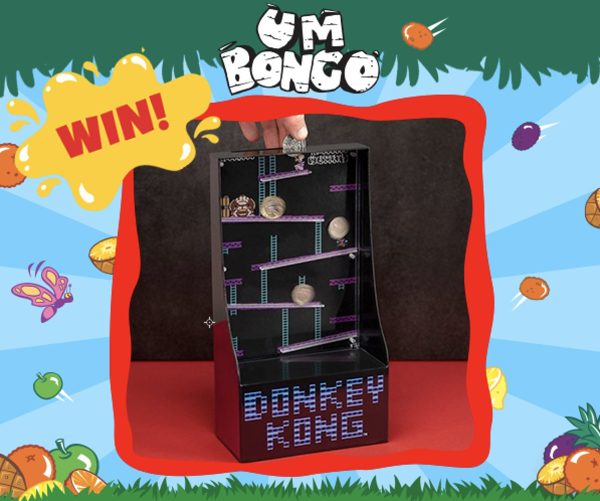 Follow, Retweet & Reply for the chance to Win a Donkey Kong Money Box!  The herd have an awesome giveaway for you this #FreebieFriday! Save your pennies in style ready for Christmas. Closes 11am 14/11, UK Only, T&Cs In Bio Apply #Win<br>http://pic.twitter.com/7ANAB9pGoT