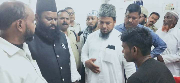 AIMIM Jharkhand team met the families of Mubarak Ansari & Akhtar Ansari today. Cases of lynching continue to occur in BJP-ruled Jharkhand, and Mubaraks death is the 4th since Tabrez. Besides assistance, we offer our deepest condolences to the families of the injured & deceased.
