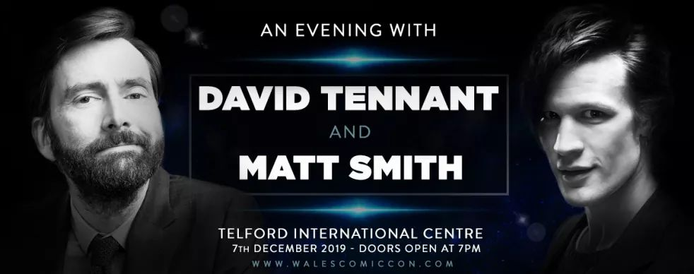 An Evening With David Tennant And Matt Smith - Saturday 7th December