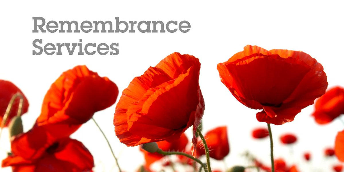 The borough will fall silent on November 10 to remember the fallen. To find details of your nearest #RemembranceSunday service please visit 👉 oldham.gov.uk/remembrance/ for more information.