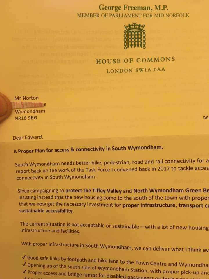 .@GeorgeFreemanMP Why write to my family even though he died 20 yrs ago? Why dont you include his wife of 40 yrs? Does her vote not matter to you or are you sexist? This letter caused upset to his wife, son and daughter. You need to apologise and sort out your address lists!