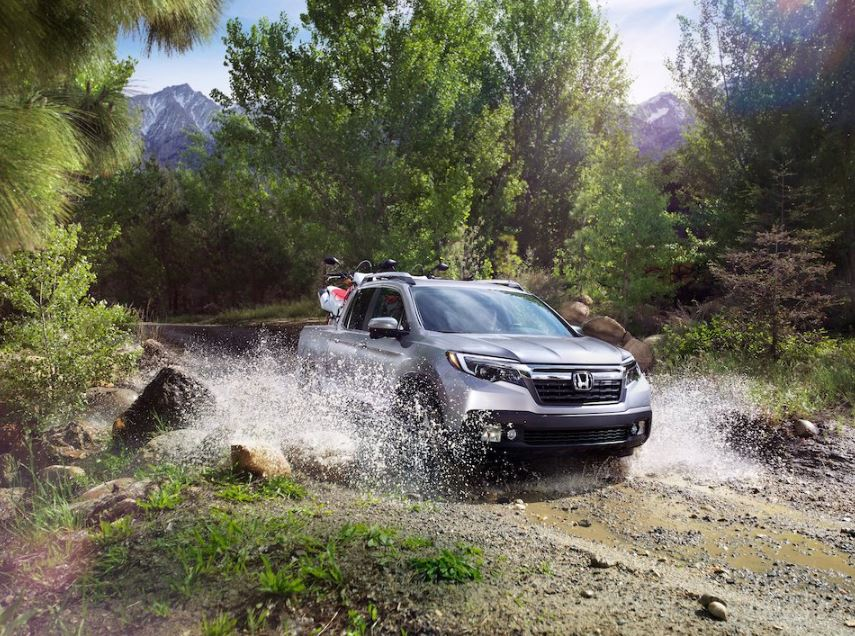 With AWD on the 2019 #HondaRidgeline, you can take on the toughest roads and weather conditions!