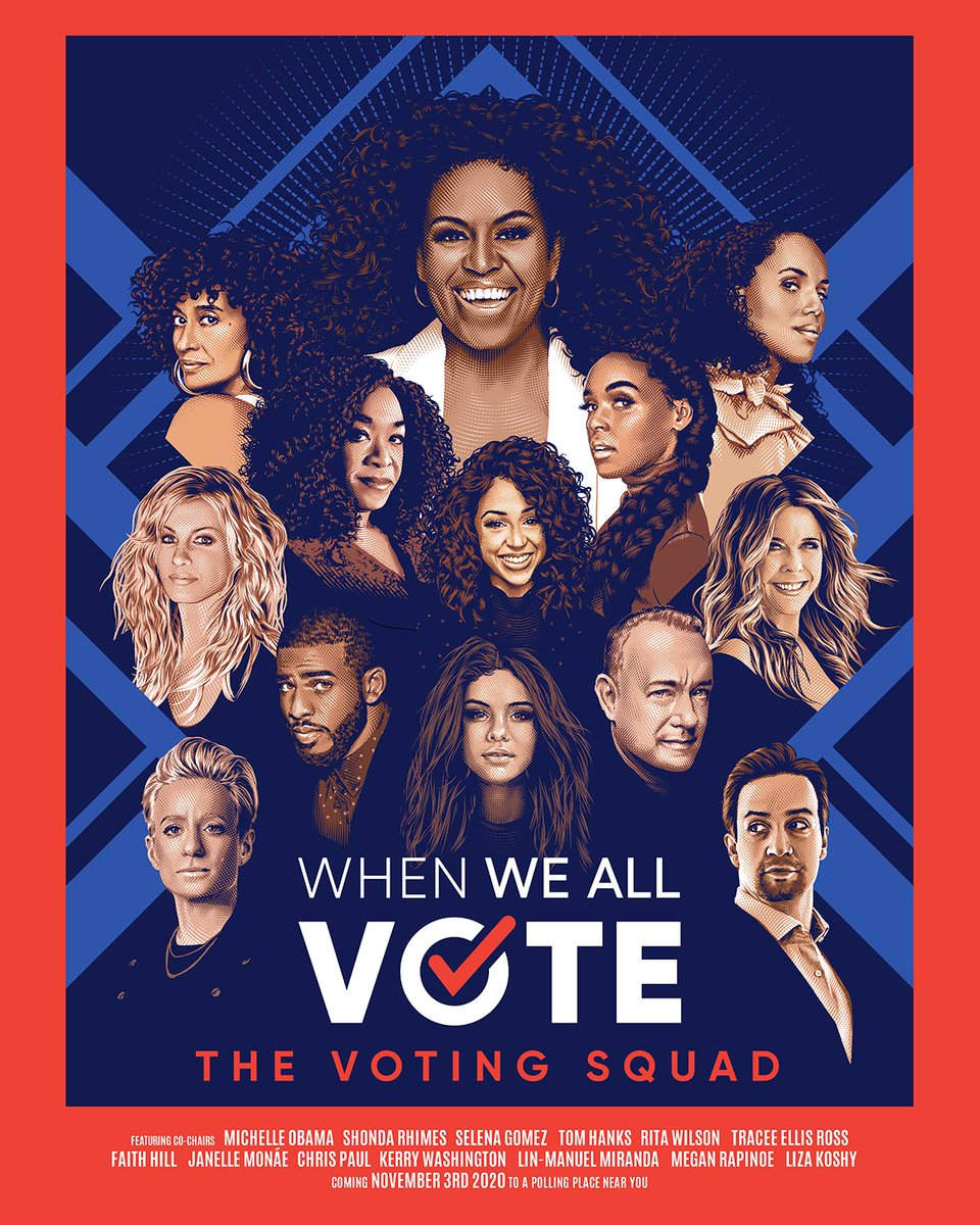 The best person to register voters in your community is you. I've got my #VotingSquad together—now we need you!   Get started at http://whenweallvote.org.