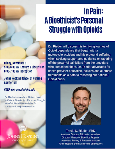 Join @JHUNursing for this important event!
