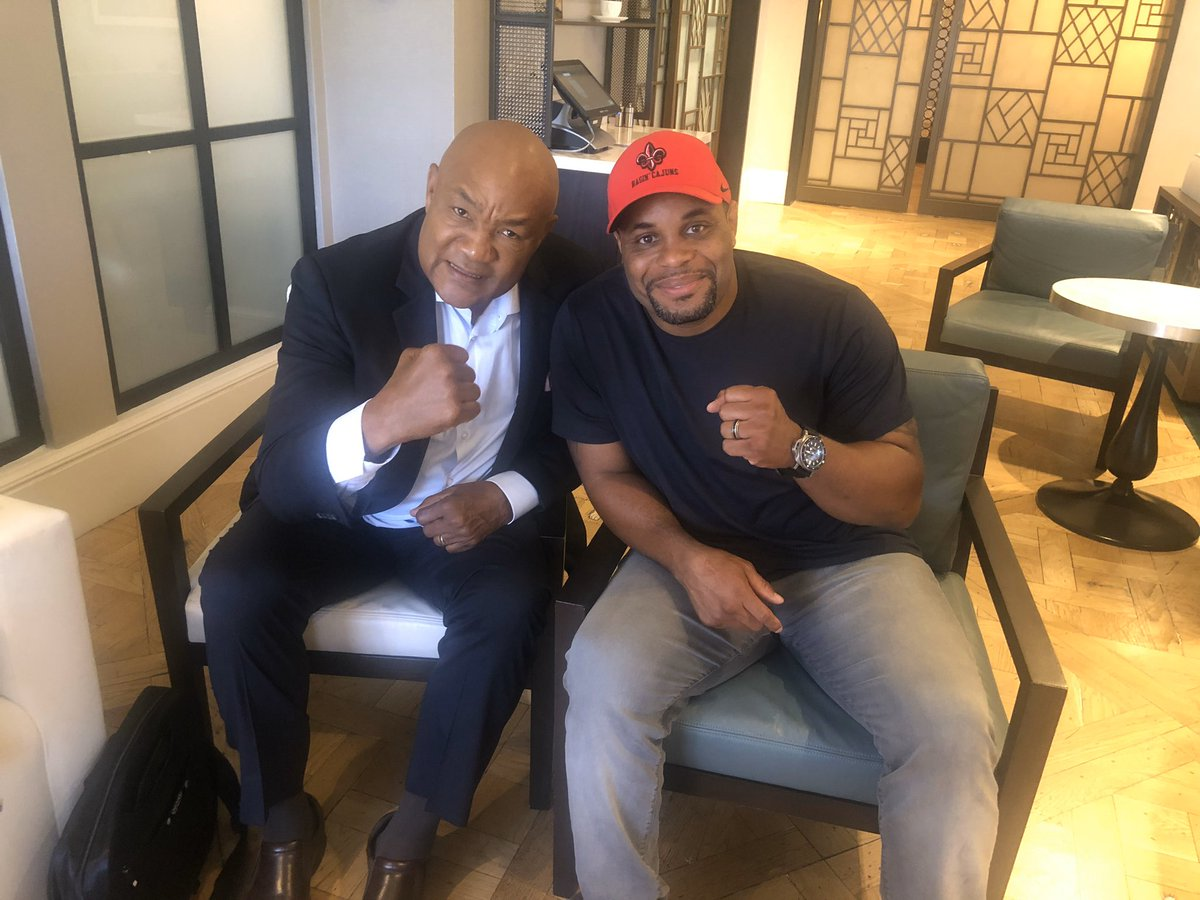 Great meeting you champ, I am very excited to have you a part  of my journey to the hwy championship. Excited  to meet all the kids at the Houston youth center, and learn from one of the best. If anyone knows about becoming world champ as a older man you do!(Look at his hands 😳)