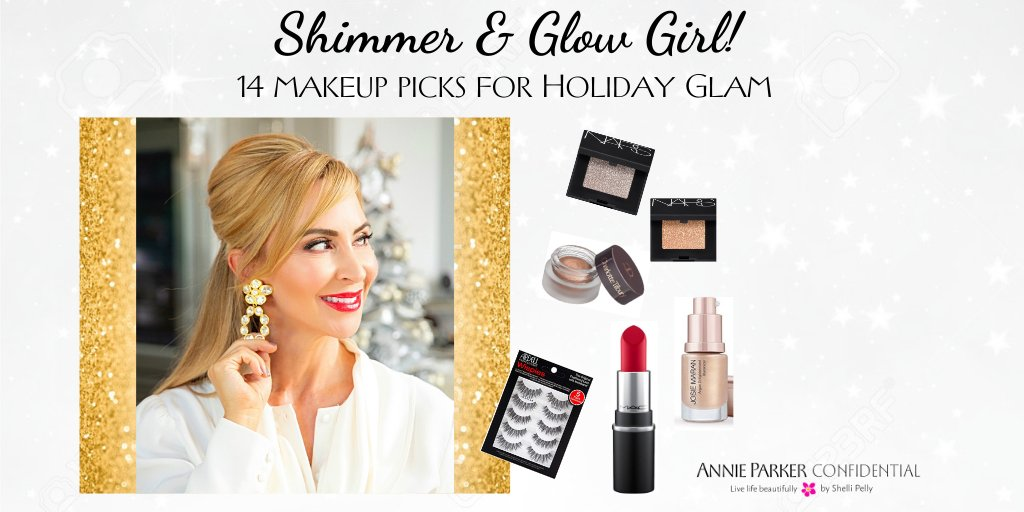14 Make-Up Picks for Holiday Glam!  Sparkle, Shimmer and Shine all season long with these must-have beauty essentials.     #holidaybeauty #holidaymakeup #shopping #holidays #christmas #bblogger #bbloggers #beautyaddict #beautybloggers #beautytips