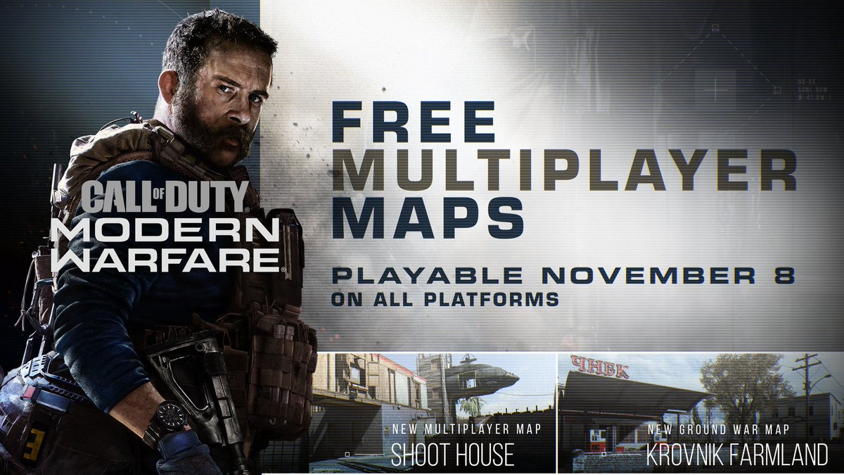 Shoot House y Krovnik Farmland son los nuevos mapas de Modern Warfare