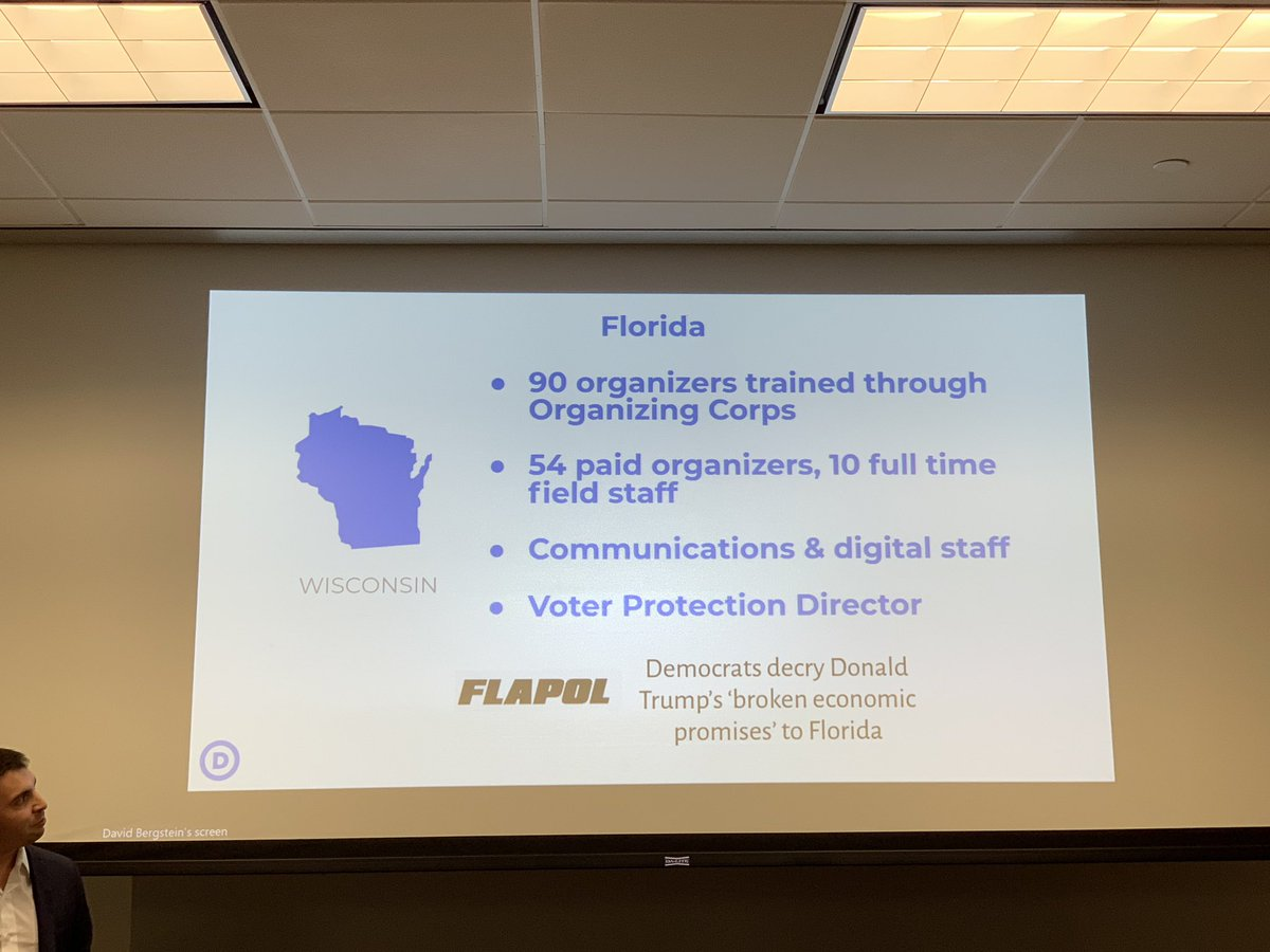 Florida sure looks like Wisconsin on the DNC presentation on battleground states