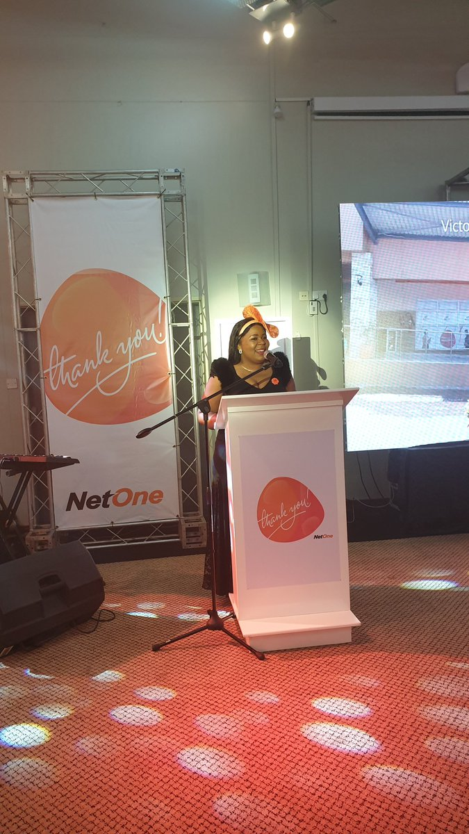 @netonecellular zone 2 commander @DubeElmah in her opening remarks highlighted that in zone 2 we have over 300 Franchises which cover areas as far as Gwanda , Vic Falls,Plumtree etc which have been recruited to improve quality of services offered to customers  #NetOne4ThePeople https://t.co/N2oJfyLfND