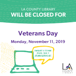 Image for the Tweet beginning: All libraries will be closed