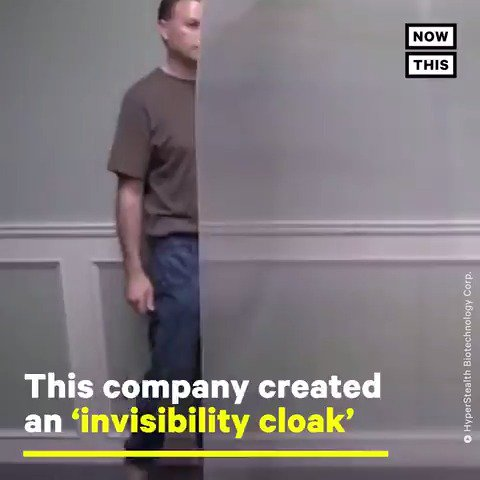 This camouflage company has created a real 'invisibility cloak'