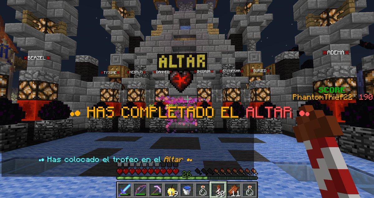 ¡He terminado el CTM Continents 2! Me ha encantado :D Me ha durado unas 20 horas, así que esta bastante bien :D Gracias por el mapa @KillerCreeper55