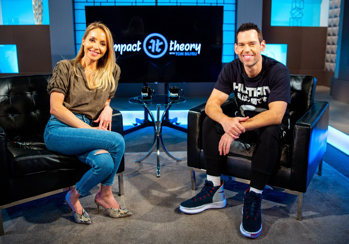 Thank you @TomBilyeu for a powerful conversation on Impact Theory. It was so cool to riff with you. Everyone listen or watch here... https://impacttheory.com/episode/gabby-bernstein…