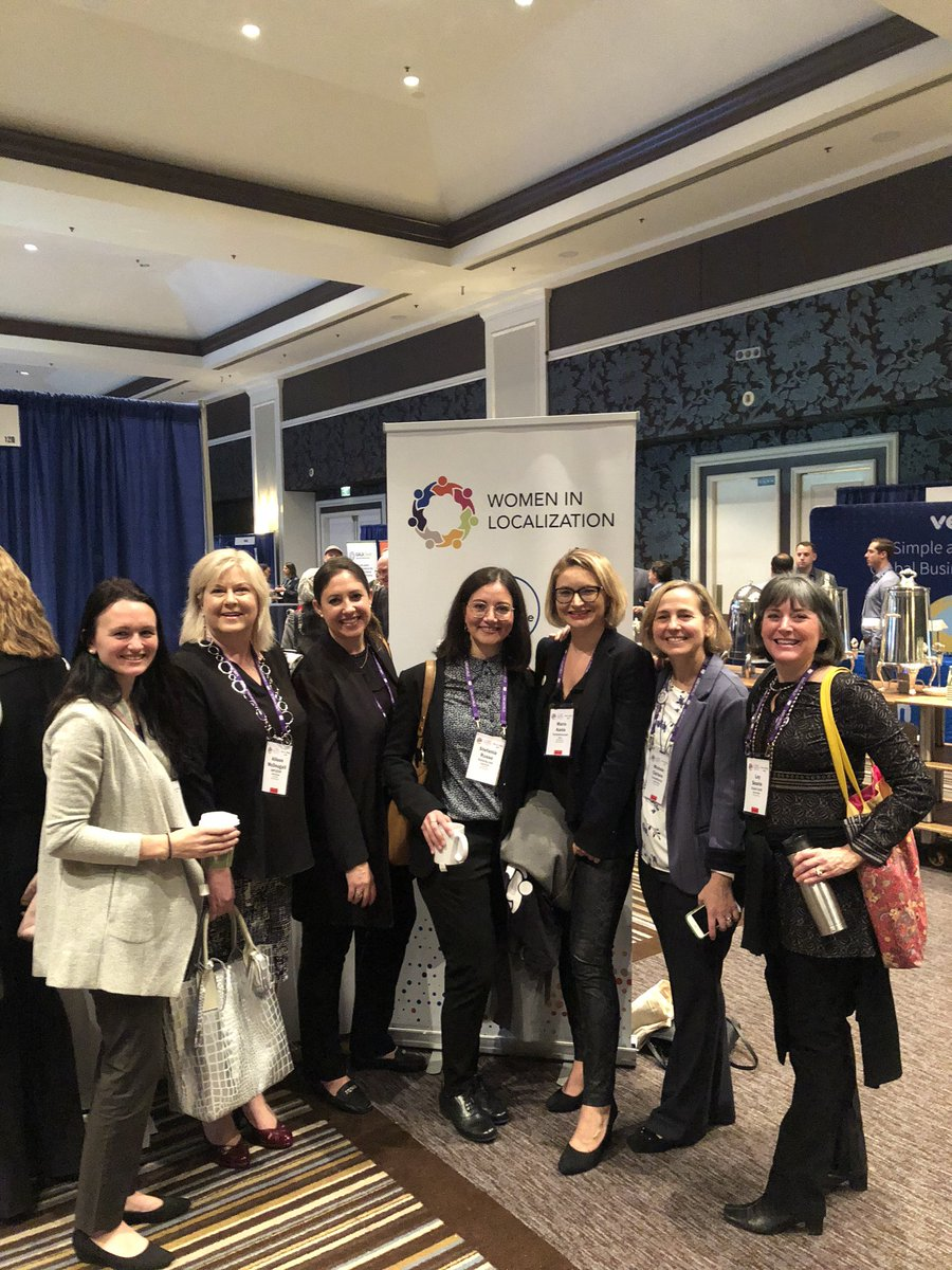 So much energy from all these amazing Women in Localization at Loc World — here today in San Jose from all over the world! Love this group! Join our tribe!! @LocWorld @WomenInL10N #locworld41<br>http://pic.twitter.com/tCuzKKtXkM