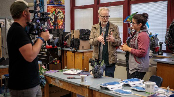 At @NBHS_Bruins, @donttrythis Checks in With Student Cosplayers Readying Costumes for @NY_Comic_Con! bit.ly/2WT8got