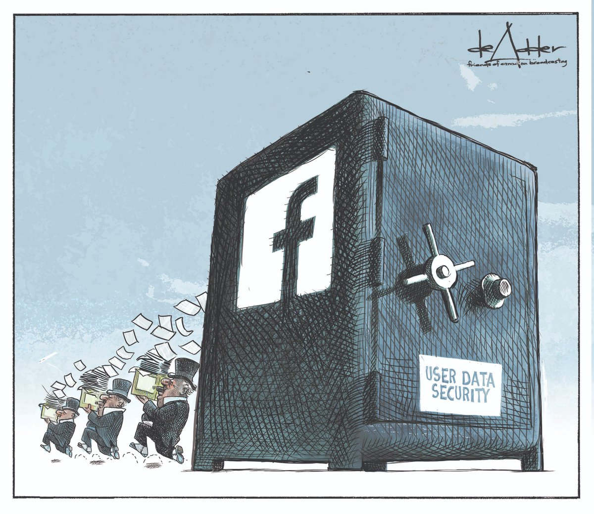 Replying to @friendscb: .@deAdder on @Facebook data privacy. #bigtech #facebook