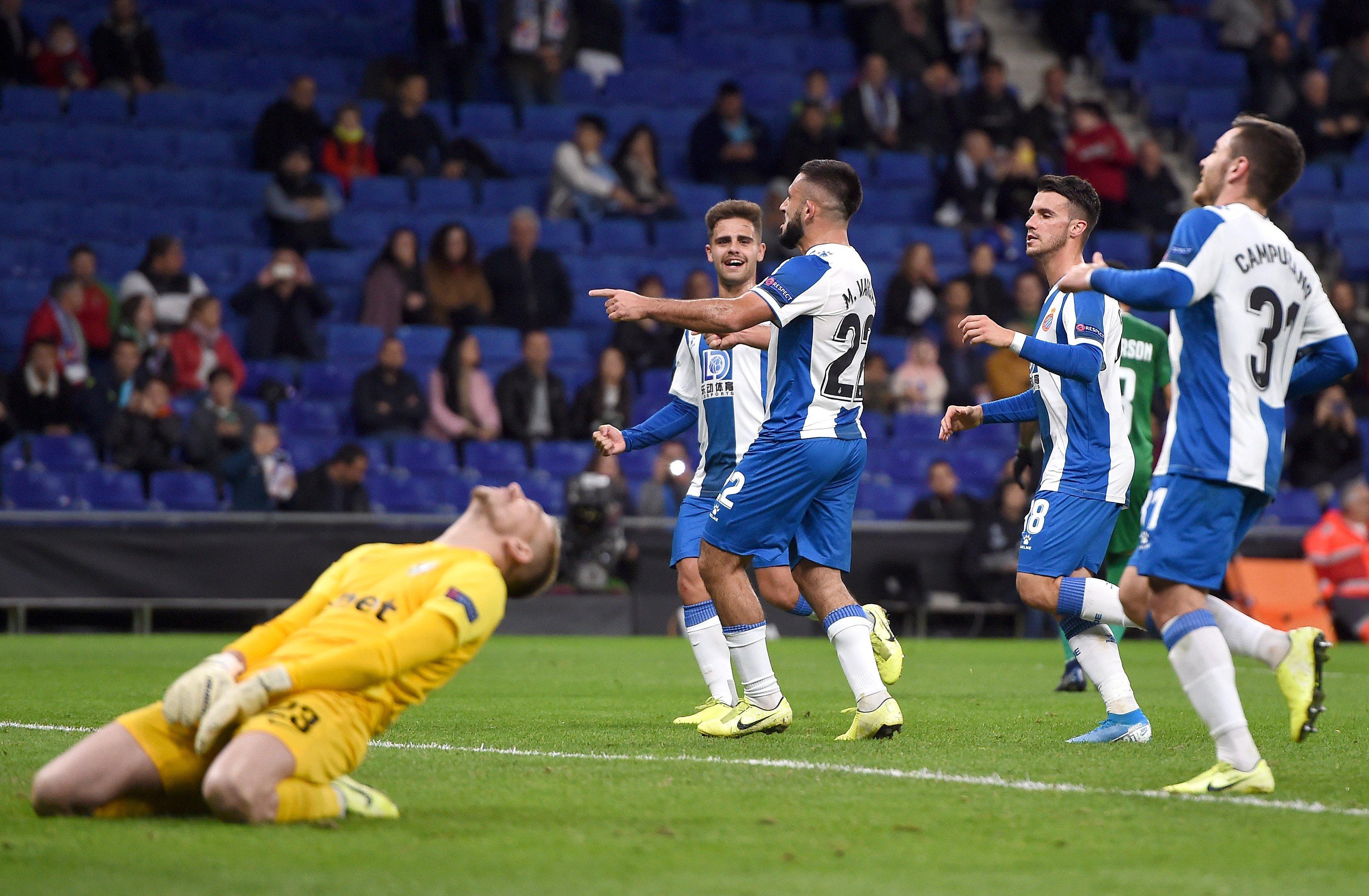 Лига Европы. Яремчук и Гент обыграли Вольфсбург, ничья Реброва, шесть голов от Эспаньола - изображение 2