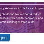 Image for the Tweet beginning: New #VitalSigns report: Adverse childhood