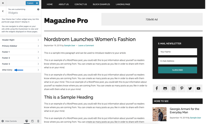 magazine pro snapshot
