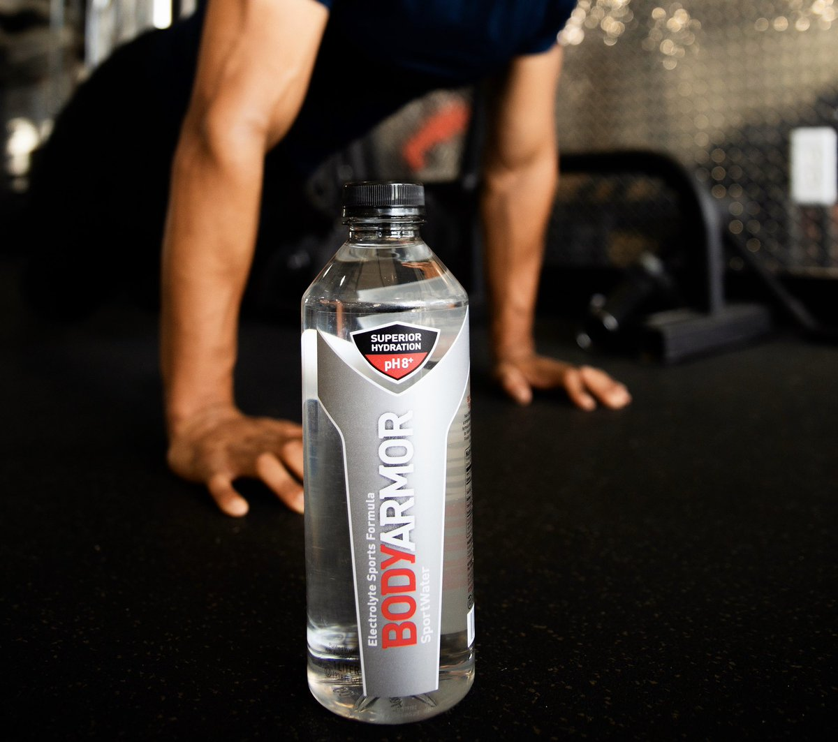 The Water Made For Athletes 💧 #SuperiorHydration