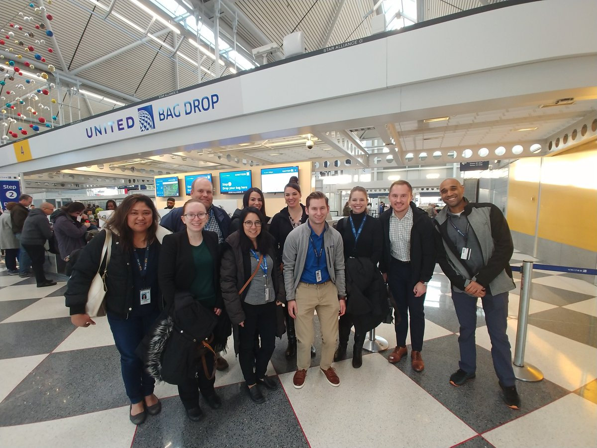 @weareunited #beingunited A big shout out to our CSC colleagues below, who came out to ORD to learn about the operation on 11/5. Our job shadow experience builds relationships between the CSC & the field, and its a fun way to learn about the operation. Sign up on takeoff!