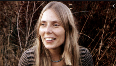Most definitely on my list of the top five songwriters of all-time. Happy 76th birthday to Joni Mitchell.