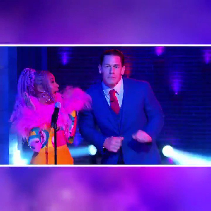 SURPRISE! You are not going to want to miss this moment with @ShoMadjozi and @JohnCena 😂 PLUS Johns brother helps us honor first responders! Next #KellyClarksonShow