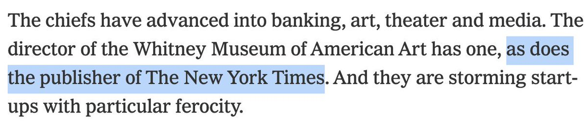 after 3 years at The Times, it finally happened. i had a profile written about my fascinating, successful life.*  (said profile spends four words on me and doesn't mention my name, but it counts.)  https://www.nytimes.com/2019/11/07/style/what-does-a-chief-of-staff-do.html…