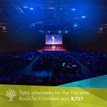 Image for the Tweet beginning: RootsTech London