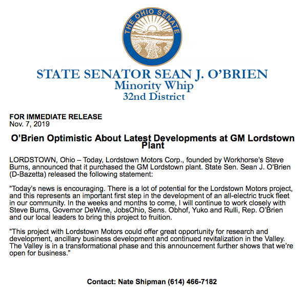 @OhioSenateDems's photo on Lordstown