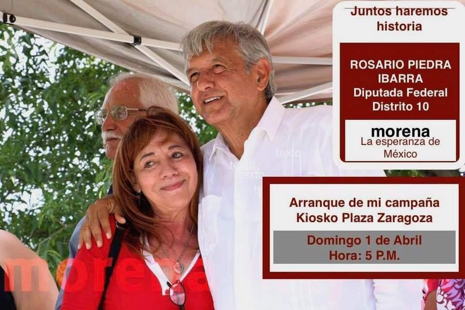 Rosario Piedra Ibarra AMLO