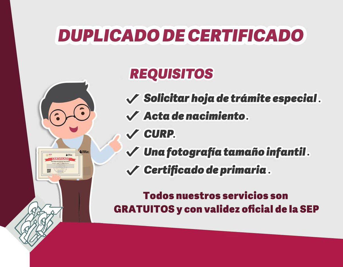 Ieea Puebla S Tweet Extraviaste Tu Certificado De