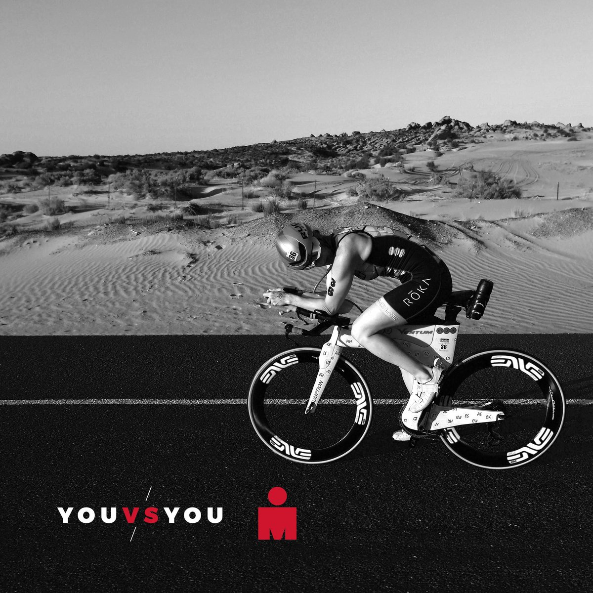 Don't look back. You might be gaining on you. #AnythingisPossible #YouvsYou