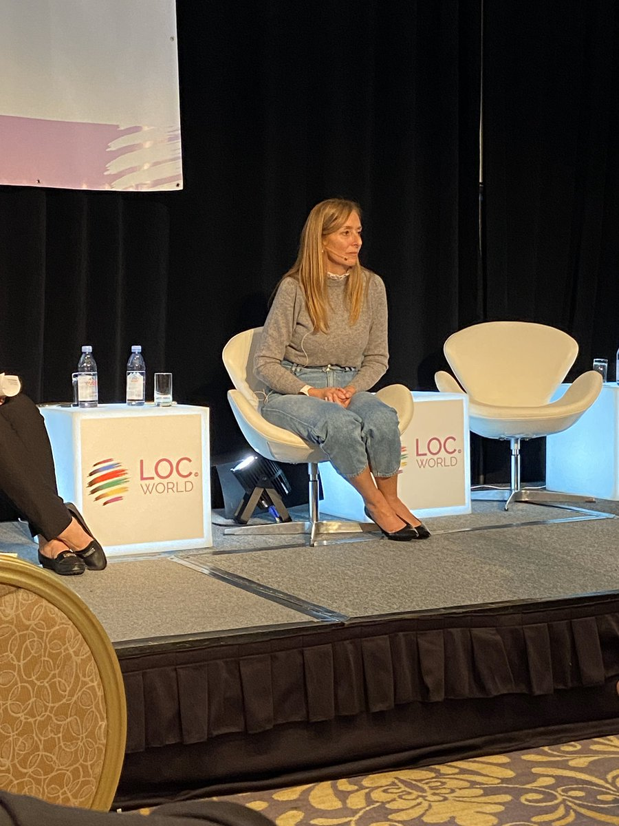 """Spend time making connections. Be brave. Partner up."" @annapapallona giving advise to #locworld41 audience on tying globalization into corporate-wide governance.  @NetAppG11N @NetAppDoc @WomenInL10N @kristin_helps<br>http://pic.twitter.com/2tiwZ3JVz0"