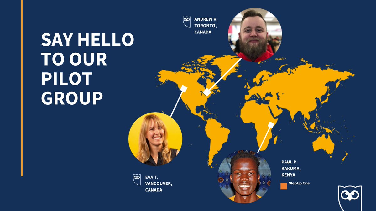 @Step_up_One @unhcr Say hello to our pilot group 👋 Over the next 8 weeks, @DukPadiet will be creating content for Hootsuite on Twitter and Facebook in partnership with our team from Kakuma Camp. Keep an eye out for the hashtag #SocialForGood to follow along!