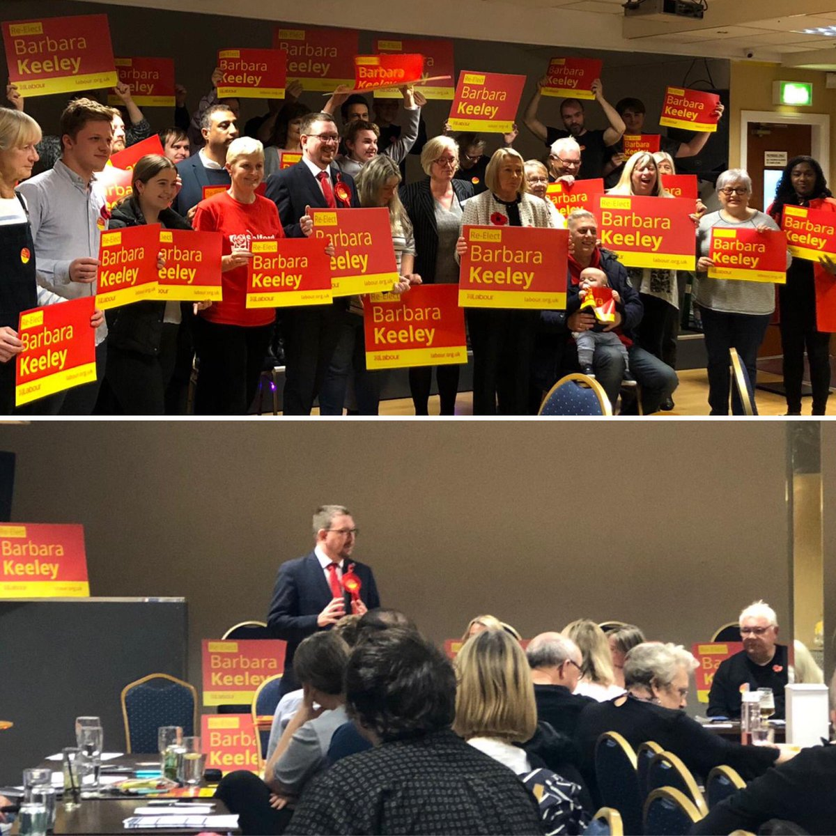 Proud to be asked to help launch my mate @KeeleyMP's re-election campaign in Worsley & Eccles South. She's been amazing over the past 14 years: campaigning on social care, mental health and for the 1950s-born women fighting for pension justice. #VoteLabour2019 #RealChange 🌹