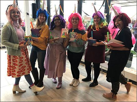 Children's Publishers Celebrate Halloween 2019: see our selection of photo highlights from recent book-themed costume parties, with appearances by Coraline, Corduroy, Ms. Frizzle, Mary Poppins + more  https:// pwne.ws/2NrQ5n2     <br>http://pic.twitter.com/wGaJvKDSll