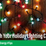 Upgrade to LED light strings or projectors. ⚡ The electricity cost for running traditional mini incandescent lights is roughly 10 times more than LEDs. #Energy #Tips