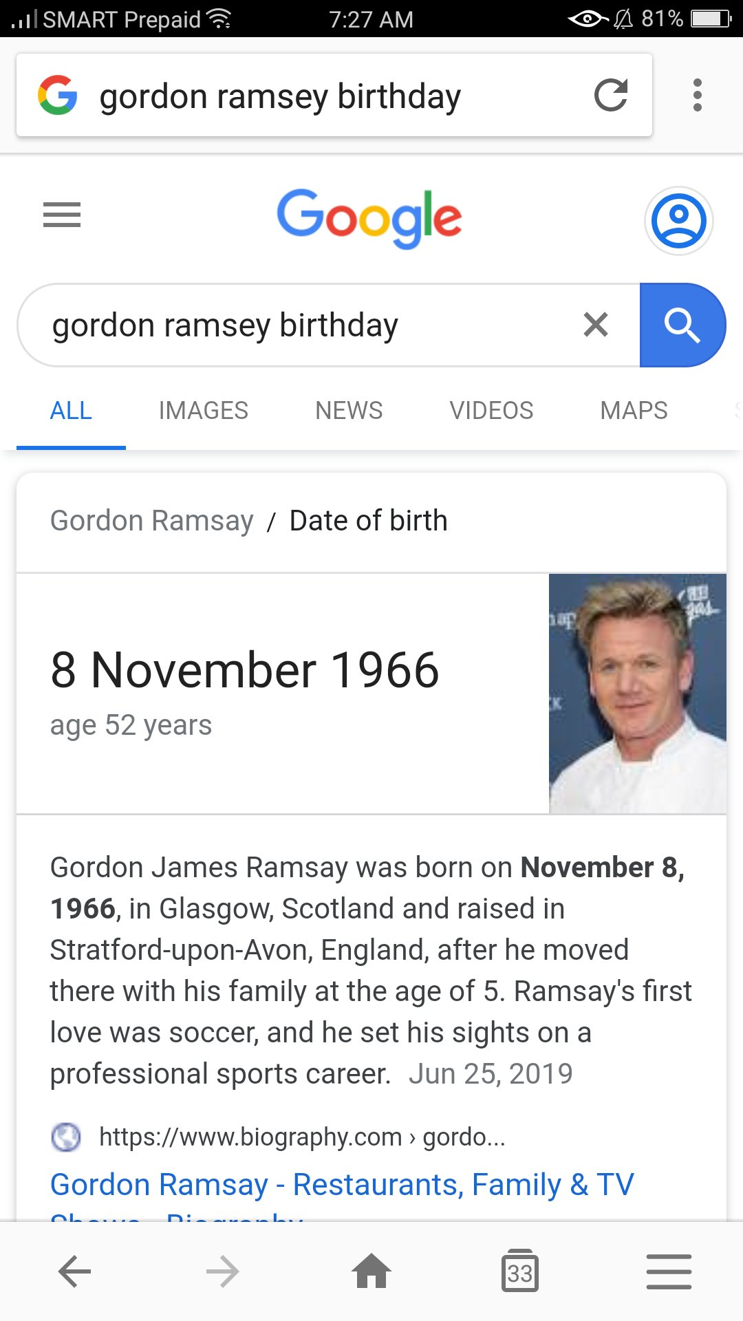It\s Gordon Ramsay\s Birthday!!! YEYY! Happy Birthday to one of the best chefs in the world!