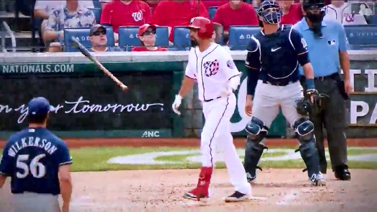 • .319 average • 34 HRs • 126 RBIs • 44 2Bs (And a #WorldSeries title.) Congrats to Anthony Rendon in his 2019 Silver Slugger Award! 🔗 // bit.ly/2qsBoH7