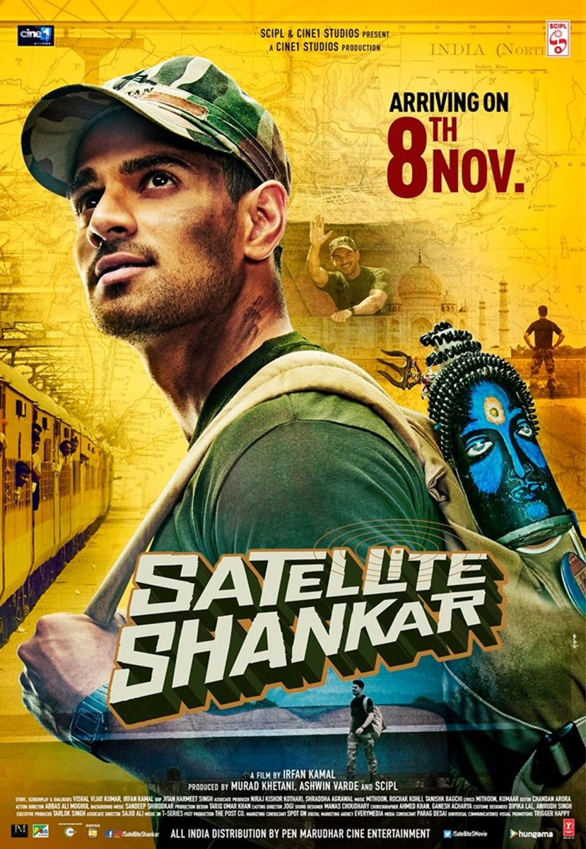Satellite Shankar (2019) Hindi WEB-HD 1080p 720p 480p x264 AAC | DD2.0 | Full Movie