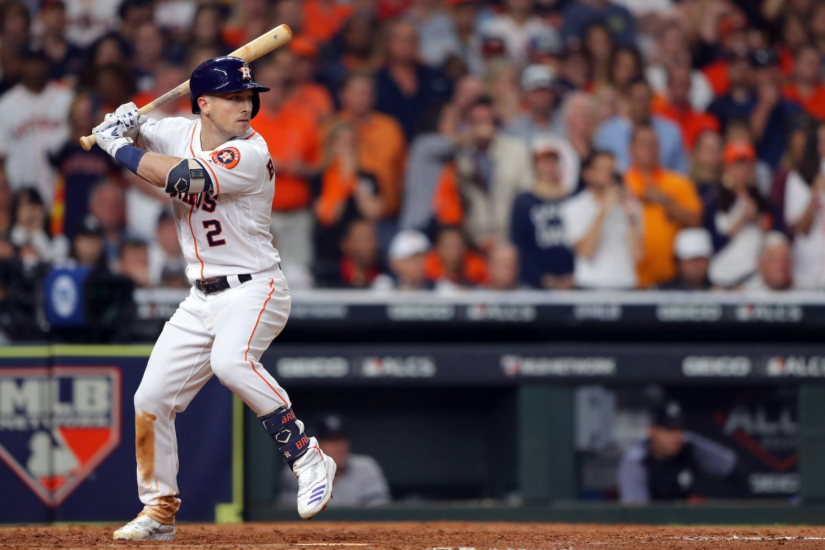 A huge season for @astros third baseman @ABREG_1 results in his first career #SilverSlugger. Monster year for Bregman.