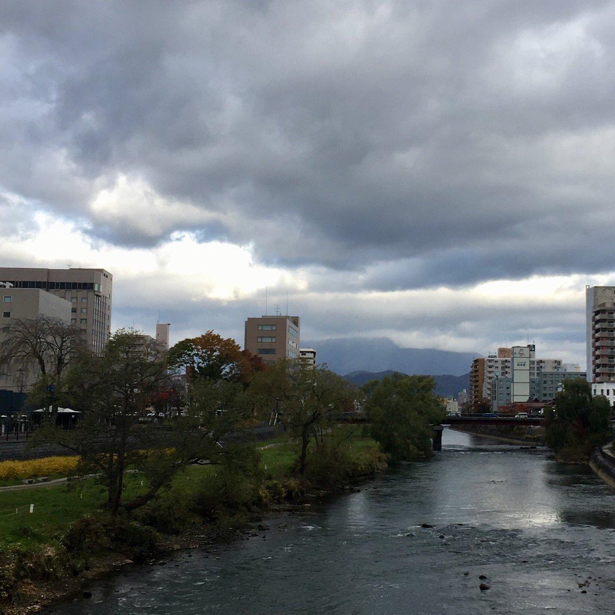 2019/11/08 盛岡市の開運橋から撮影。みなさま、体調管理に気をつけてお過ごしください。 #岩手 #盛岡 #北上川 #岩手においでよ