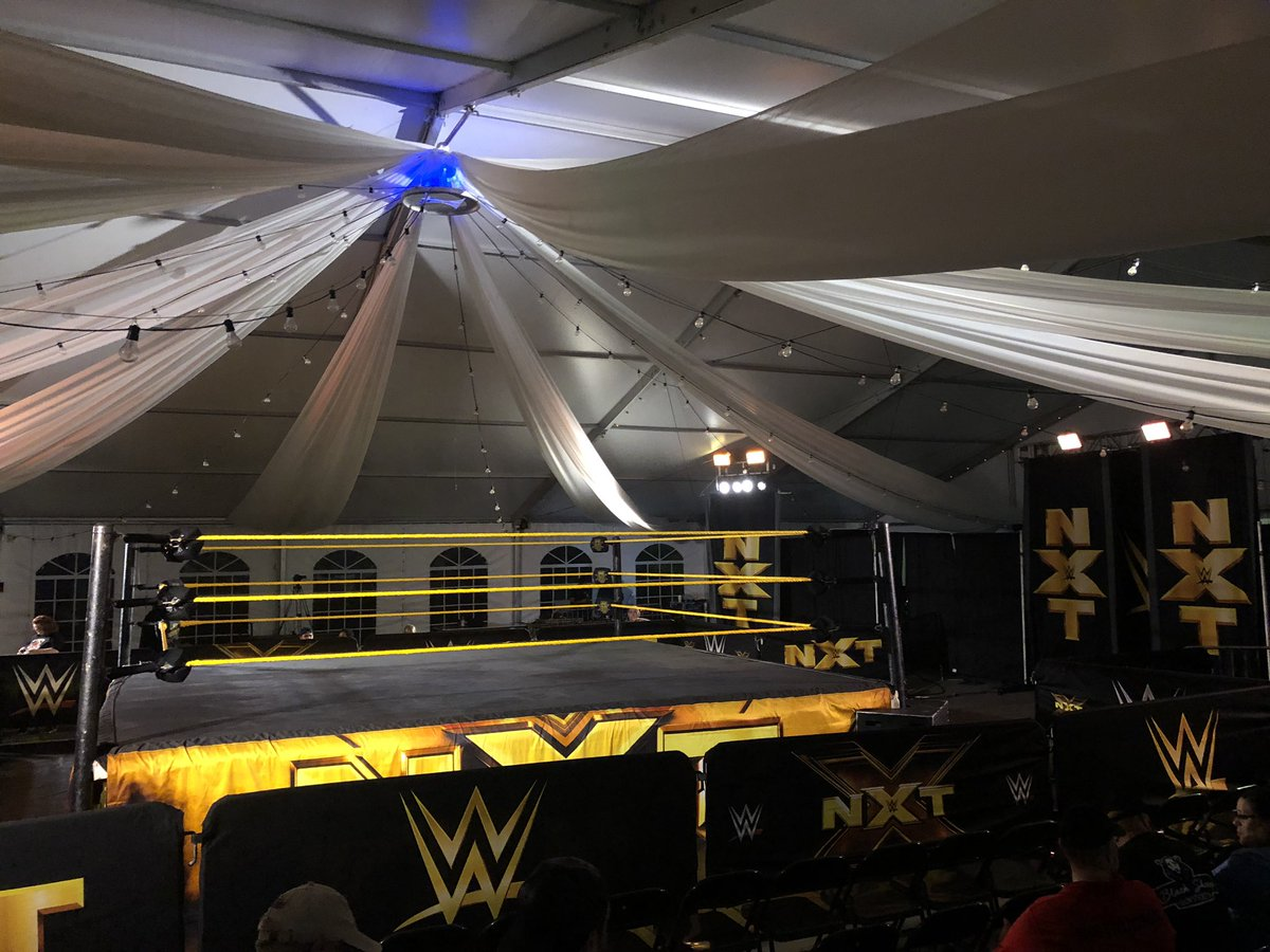 WWE NXT Live Event Results From Ocala (11/7): Breezango In Six-Man Main Event, Legend Appears, More