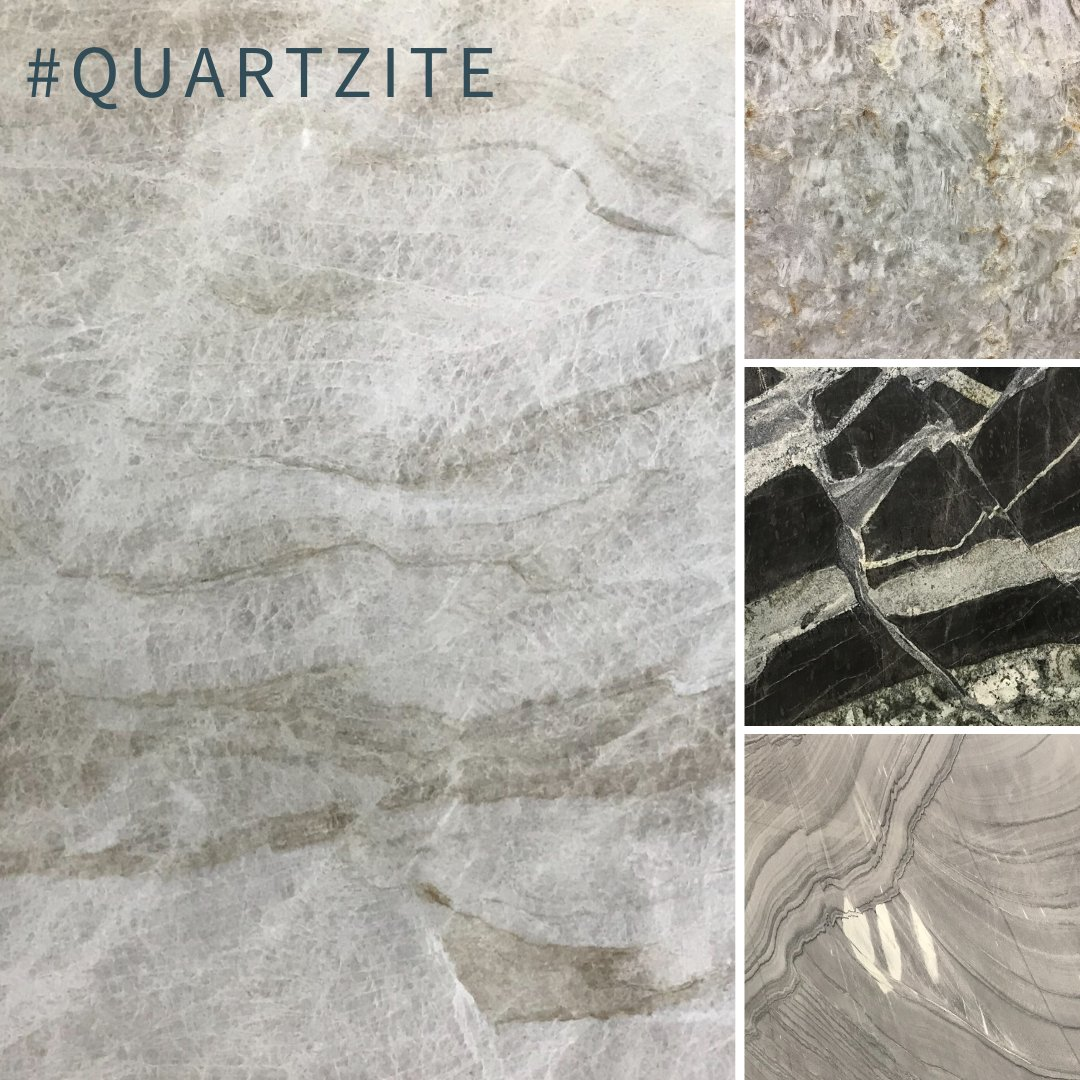 Quartzite is a metamorphic rock that is formed from sandstone. Quartzite can be of exceptional strength, density, and hardness which makes it great for any project including kitchens and bathrooms! #dfwbuilder #dallas #dhome #dallasinteriordesigner #homeremodeling #remodel<br>http://pic.twitter.com/iaYRX9J8NB
