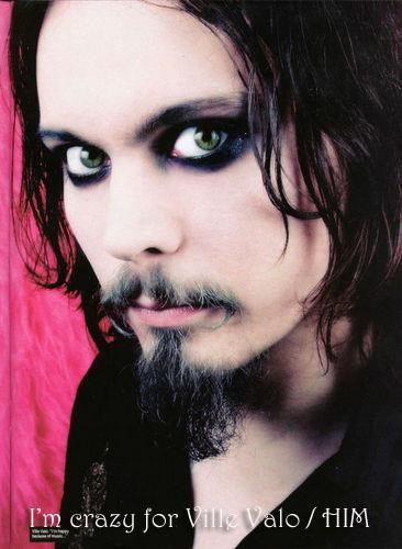 Happy birthday to Ville Valo!!